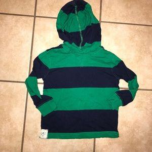 Chaps lightweight hoodie 3t